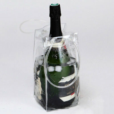 PVC Wine Bottle / Ice Bag Cooler Rapid Cool Can Cooling Gel Holder Gift Party