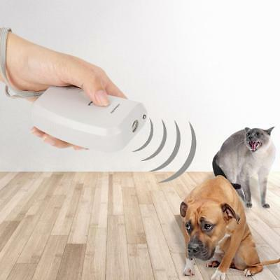 Portable Ultrasonic Dog Chaser Stop Aggressive Animal Attacks Repeller Tools
