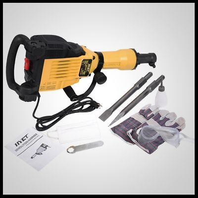 Demolition Jack Hammer Electric Concrete Slab Breaker Trenching Chipping Case