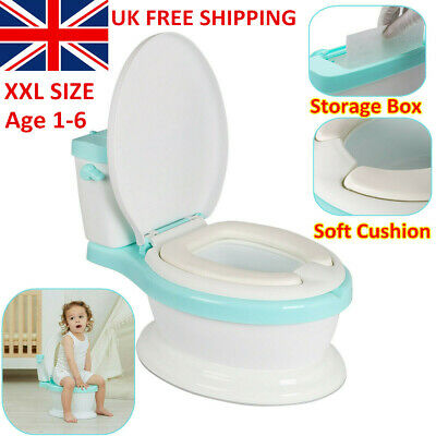 Toddler Loo Kids Potty Child Toilet Trainer Baby Urinal Fun Training Seat Safety