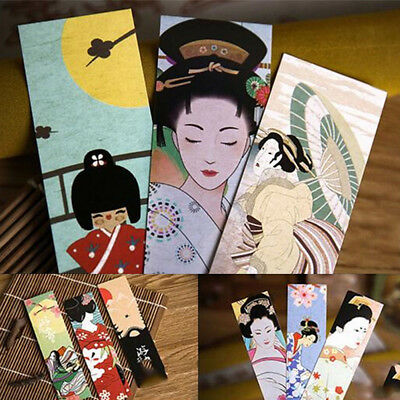 30pcs/lot Japanese Classical Creativity Retro Style Bookmark Student Supplies