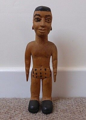 Good Quality West African Ewe Ghana Togo Male Standing Doll Tribal Art Carving