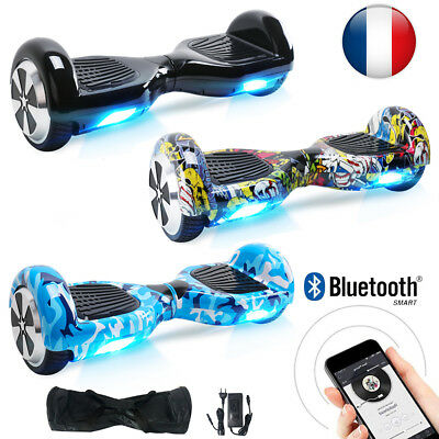 6.5'' Gyropode Hoverboard Electrique Self Balancing Overboard Bluetooth Scooter