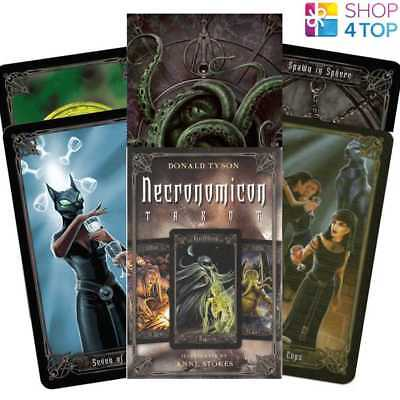 Necronomicon Tarot Cards Deck Esoteric Telling Anne Stokes Llewellyn New