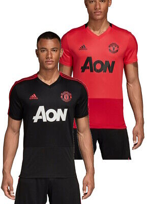Manchester United Adidas Maillot Entreinment 2018 19 Homme