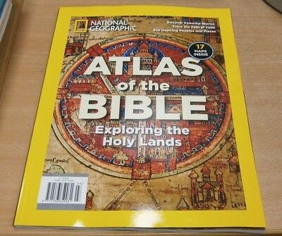 National Geographic magazine Special 2018 Atlas of the Bible: Explore Holy Lands