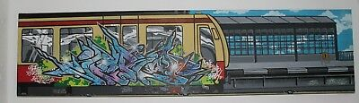 "Graffiti Leinwand/Canvas""Jero87""20x60 Unikat(Original)"