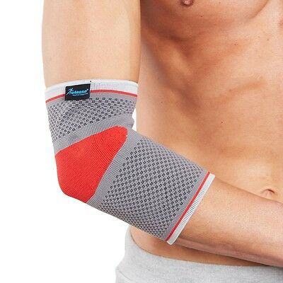 Elbow Support Sleeve with Silicone Cushions - Ideal for Sport Pain and Injury