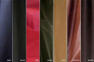 100% Rich Waterproof Cotton Canvas Wax Fabric for outdoor sports sold by meter