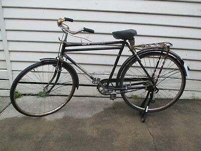 Vintage Indian bicycle bike. Ti cycles of India Hercules DTS Popular.