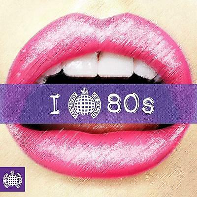 I Love 80s (MOS) - Ministry of Sound [CD] Sent Sameday*