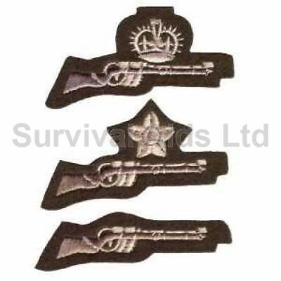 CCF/ACF Small Bore Shooting Badges-1st Class