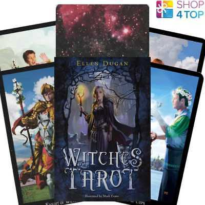 Witches Tarot Cards Deck Esoteric Telling Ellen Dugan Llewellyn New