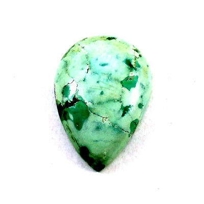 AAA+ Quality  Natural TURQUOISE Pear Cabochon 18x26mm 20.4ct Loose Gemstone