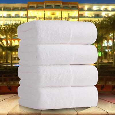 Cotton Towel White Thick Soft Super Strong Salon Spa Absorbent Hotel Bath Supply