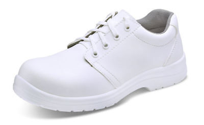 Safety  Food Industry Chefs Kitchen Catering  White Anti Slip Shoe  Size 5