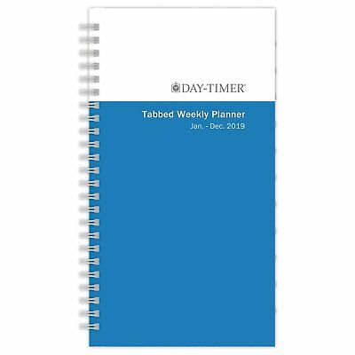 """Day-Timer Refill 2019 Two Page per Week January 2019 - December 2019 3-1/2"""" x"""