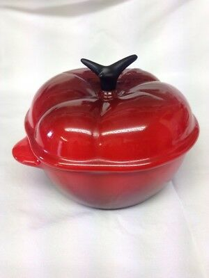 Le Creuset Red Tomato Lidded Pot