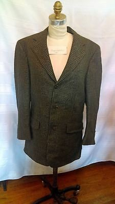 "Vintage Brooks Brothers suit jacket, 23"" sleeve, 21"" chest, 29"" length, grey"