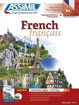 Pack MP3 French (Book + 1 mp3 CD) by Anthony Bulger 9782700570793