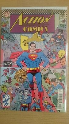 Superman Action Comics #1000 1960s Variant Cover by Michael Allred / DC Rebirth