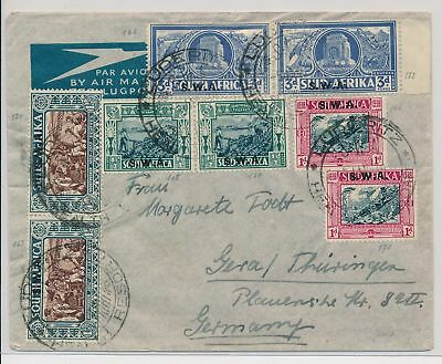 LI59860 South West Africa airmail fine cover used