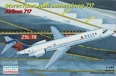 EASTERN EXPRESS 144124 - AirlinerBoeing 717 Delta Airlines /Modellbausatz 1:144