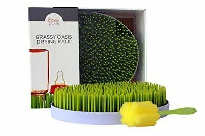 Grassy Oasis Countertop Drying Rack- Quick, Easy Drying of Baby Bottles