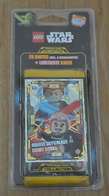 Lego® Star Wars™ Serie 1 Trading Card Game Blister LE19 limitierte Auflage