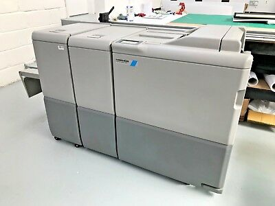 2015 Plockmatic Bk 5030 A3 Bookletmaker/ Bk 5030 Trimmer & Bf 5030 Sf Unit