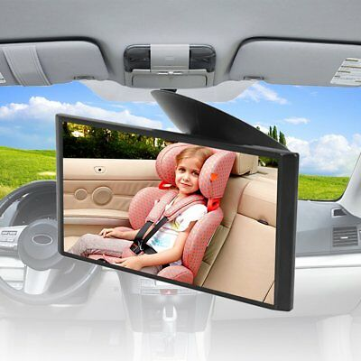 Car Safe Seat Inside Mirror Sucker View Back Baby Rear Facing Care Child Kid