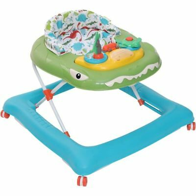 My Child Dino Island Activity Baby Walker with Play Tray, Lights & Sounds