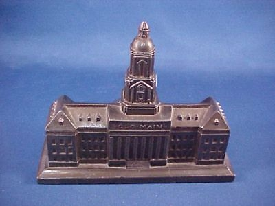 Penn State Old Main Souvenir Building (lead, made in 1930s) excellent condition