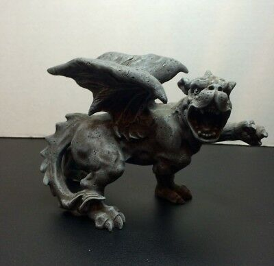 W.U.I. Summit Collection 2001 Winged Gargoyle Statue Arcadia CA