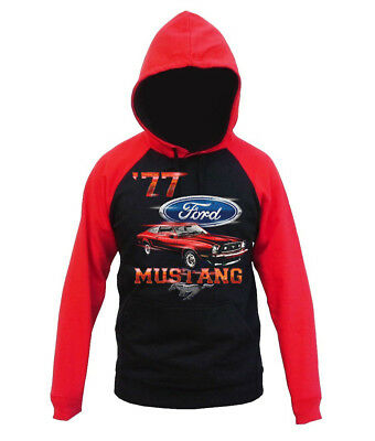 Ford Mustang Pony Tri-Bar Decal Sweatpants Sweatshirt Sweats Gifts for Men
