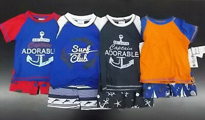Infant & Toddler Boys Sweet & Soft $65 2pc Swim Sets Size 12 Months - 4T