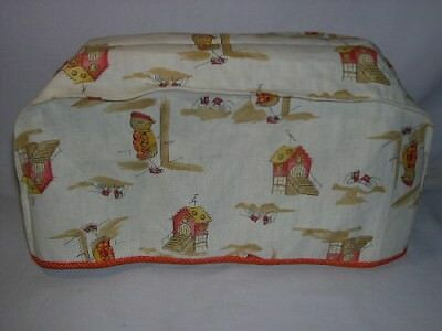 Toaster / Appliance Cover ~~ Chicken Dressed Up / Chicken Coop  Pattern