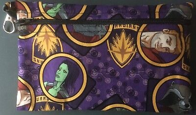 Marvel's Guardians of the Galaxy, small handmade zippered bag by studioyj