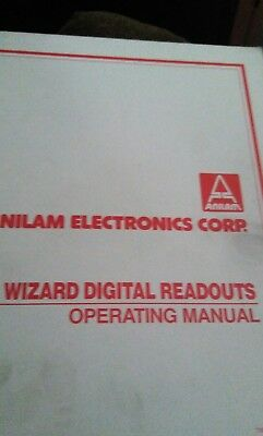 wizard digital readouts operating manual
