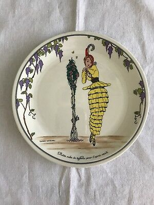 Villeroy Boch Design 1900 Salad Plate No1 2 Available Woman Yellow