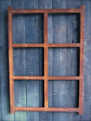 Iron Window, Square Window Made of Cast Iron, Barn Window, like Antique, New