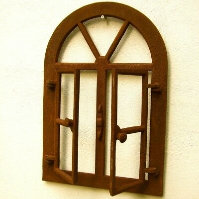 Iron Window, Lattice Windows, Top with round Arch, Barn Window, Window