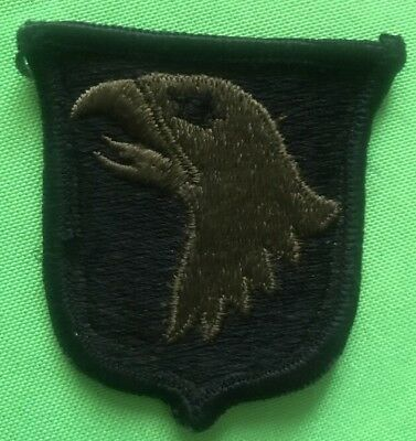 Vintage WWII Screaming Eagle 101st Airborne Division PATCH