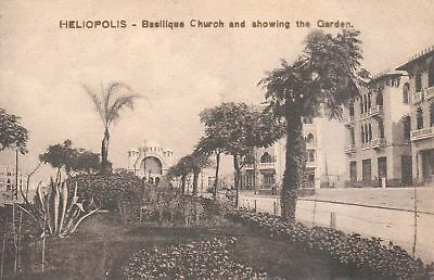 Carte Postale - Afrique - Egypte - Heliopolis - Aîn-ech-Chams - Basilique Church