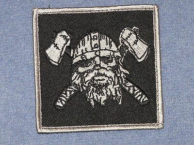AUTHENTIC US Navy SEAL TEAM ST6 DEVGRU RARE GRAY SQUADRON NSW Velcro Patch