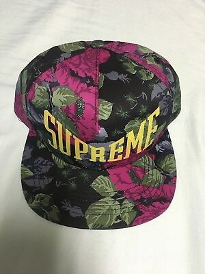 3385f6a676d NWT SUPREME EASTERN Floral 5-Panel Adjustable Supreme Snapback Hat ...