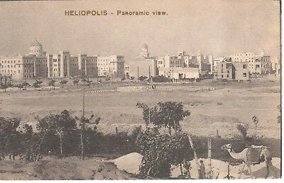 Carte Postale - Afrique - Egypte - Heliopolis - Aîn-ech-Chams - Panoramic view