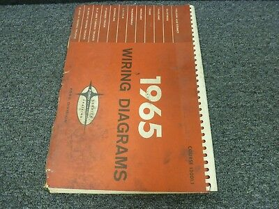1965 Lincoln Continental Town Brougham Electrical Wiring Diagram Manual