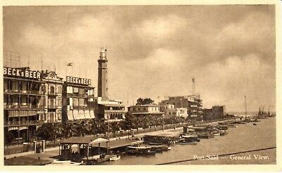Carte Postale - Afrique - Egypte - Port Said - general view