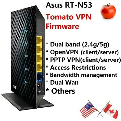 ASUS RT-N12 N300 Wireless Router TOMATO VPN Firmware, Can SETUP VPN